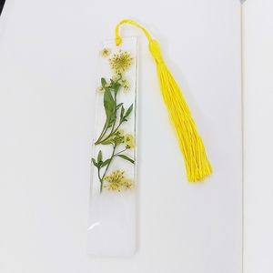 One Of A Kind Resin Wild Flower Bookmark